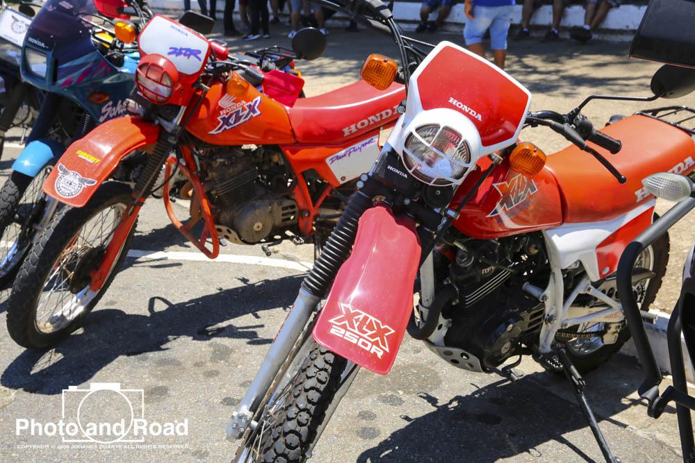 As Honda XL e XLX 250 foram o destaque deste domingo