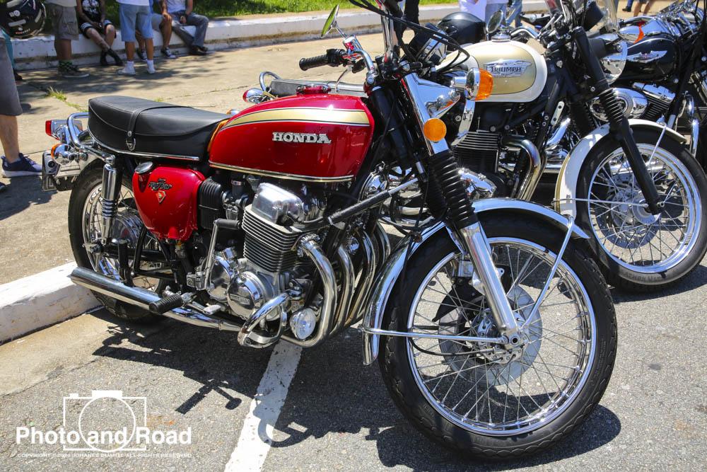 Uma das mais importantes motocicletas da era moderna, a Honda CB 750 Four