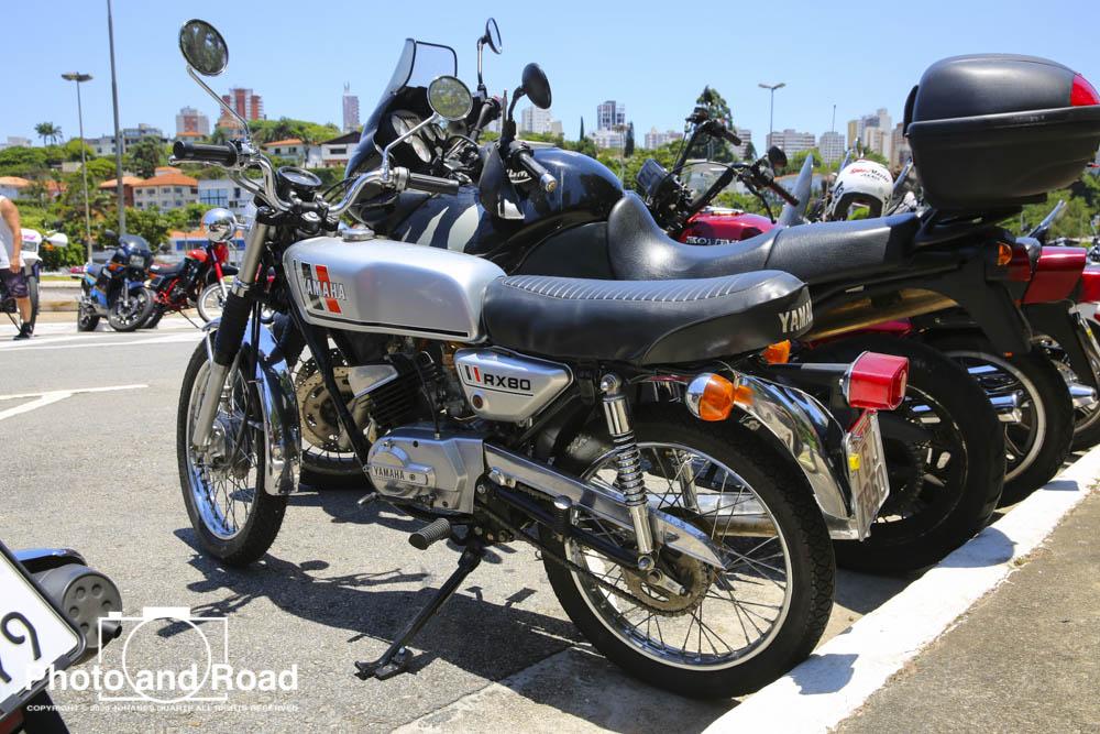 Yamaha RX 80, já representando a indústria nacional dos anos 80